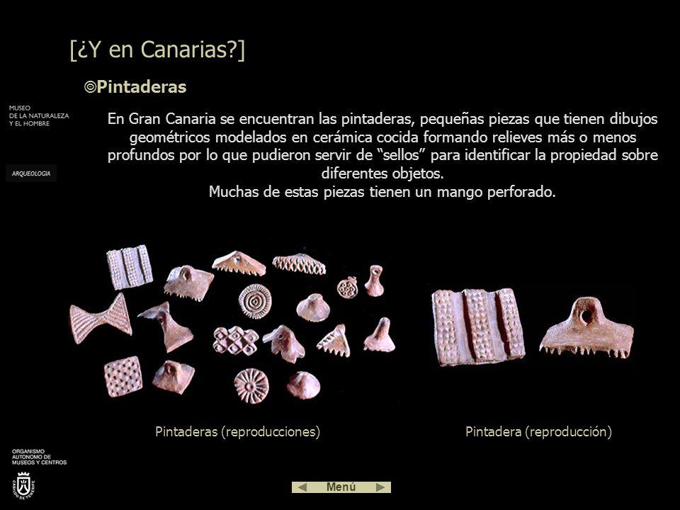 [¿Y en Canarias ] Pintaderas